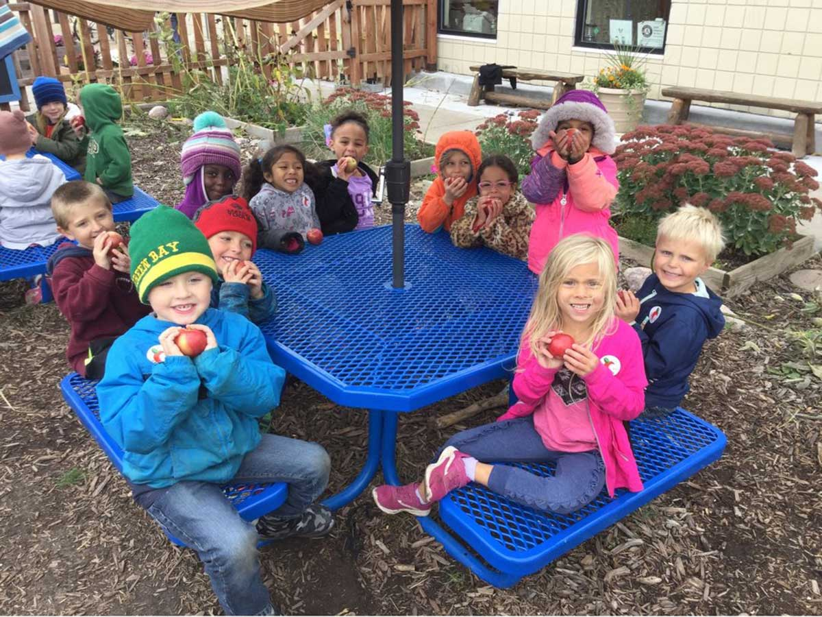 Riverway Learning Community Children's House Students